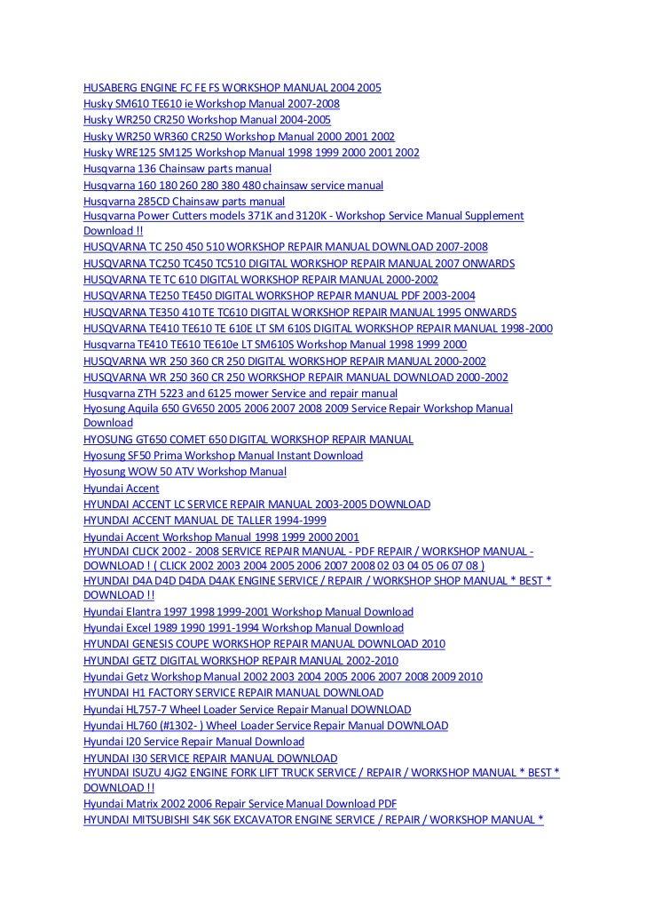 1008 manuals 23032012 rh slideshare net digital workshop manuals Professional Workshop Manuals