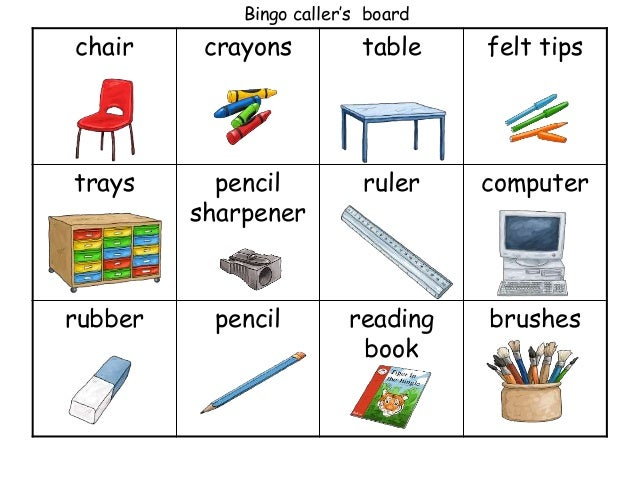 Clase2 Classroom Objects