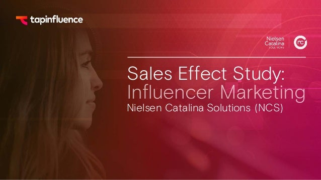 Sales Effect Study: Nielsen Catalina Solutions (NCS)