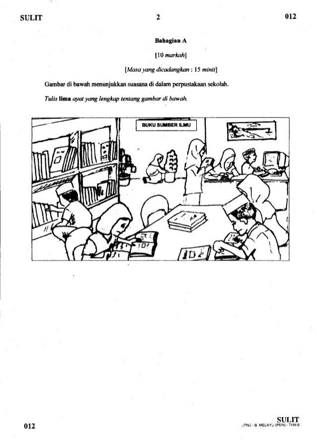 Contoh Soalan Penulisan Upsr Bahagian C Soalan Bt