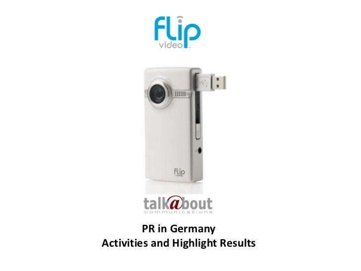 PR in GermanyActivities and Highlight Results