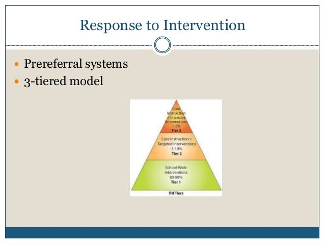 Response to Intervention and School-wide Positive Behavior ...