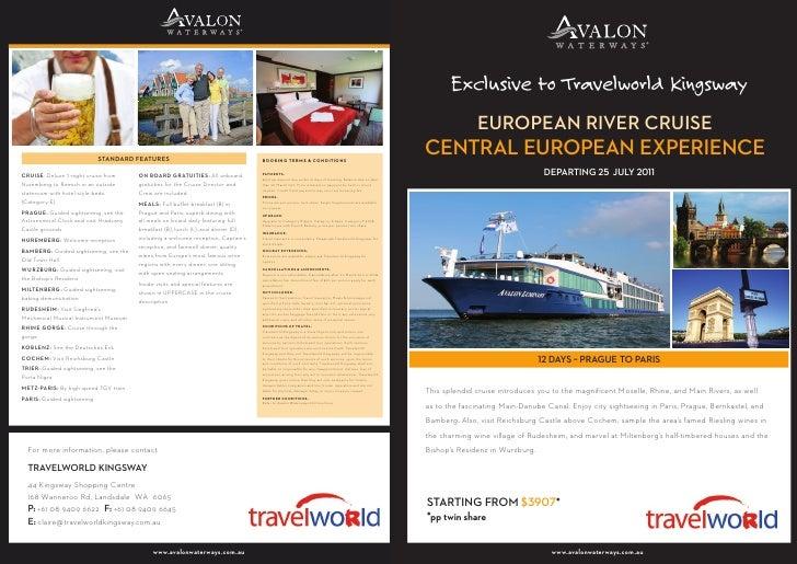 European River Cruise: Central European Experience