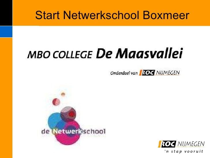De Netwerkschool Boxmeer