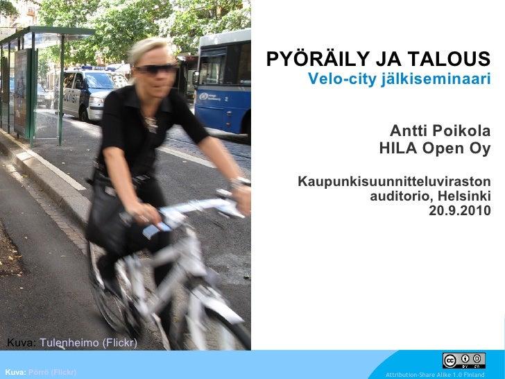 Pyöräily ja talous