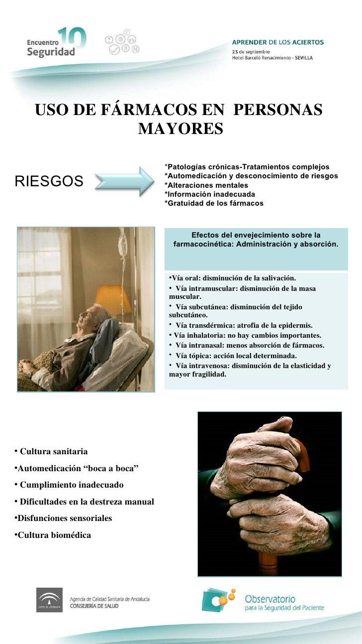 Uso racional de f rmacos en personas mayores for Sillon alto para personas mayores
