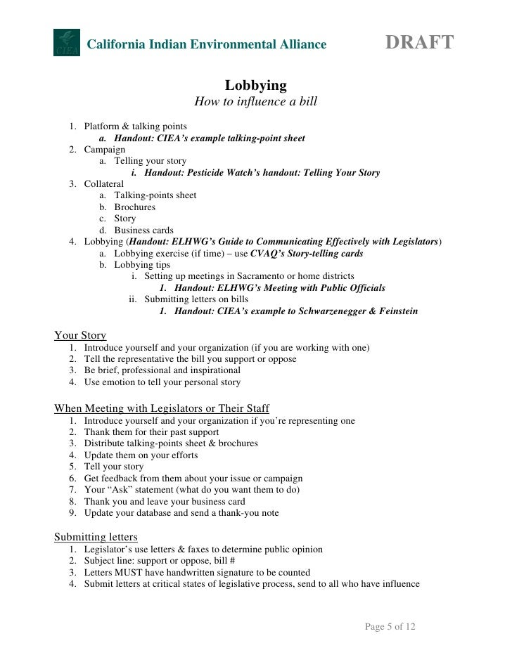 Talking Points Example Gallery Example Cover Letter For Resume