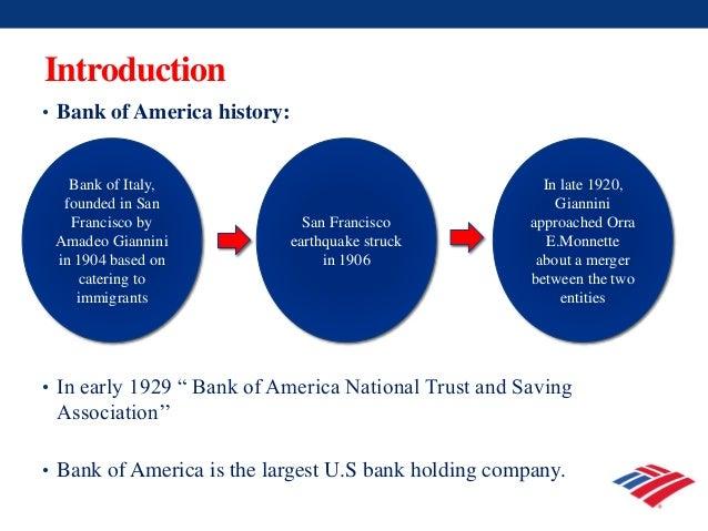 Bank of America presentation Slide 2