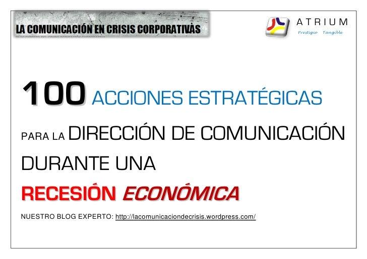 ATRIUM                                                                      Prestigio   Tangible     100 ACCIONES ESTRATÉG...