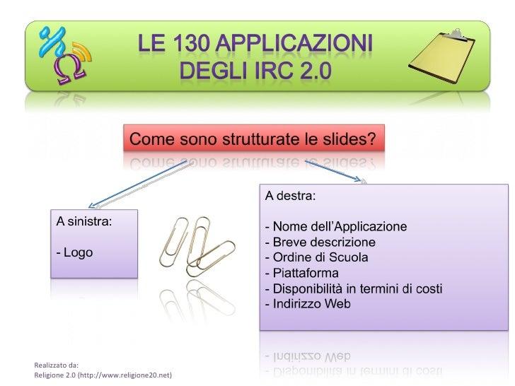Le 130 applicazioni di Religione 2.0 Slide 2