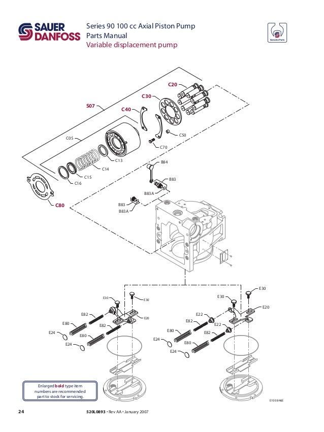 100cc pump-parts