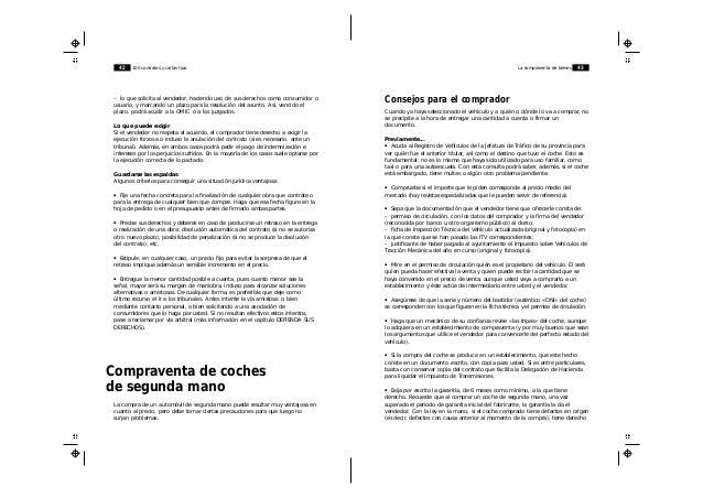 100 Contratos Y Cartas Tipo Para Defender Tus Derechos Ocu