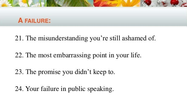 college essay topic a