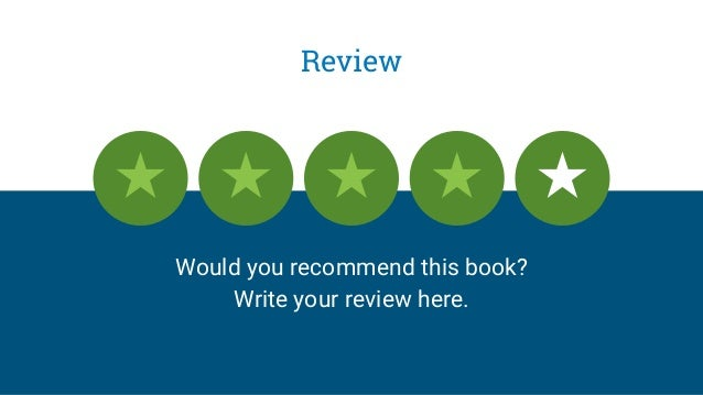 Review Would you recommend this book? Write your review here.