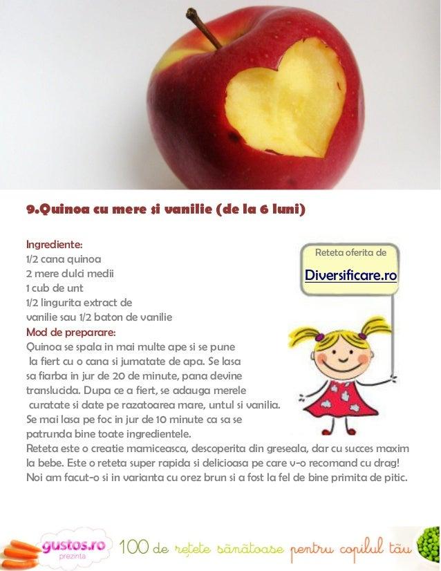 10.Chipsuri sanatoase din fructe (un an +)Ingrediente                                         Intre timp preincalzeste cup...