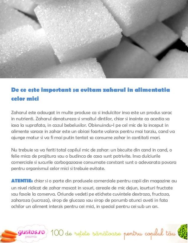 Alte alimente care trebuie evitateAditivii alimentari – in general E-urile sunt interzise in produsele comercialepentru co...