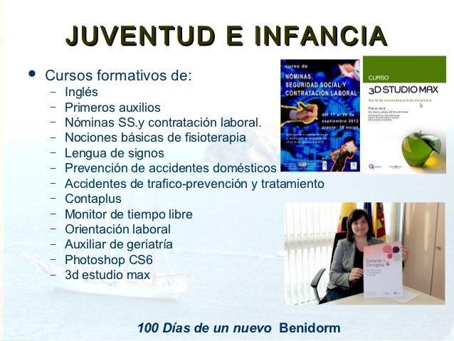 100 dias de un nuevo gobierno en benidorm for Oficina del consumidor benidorm