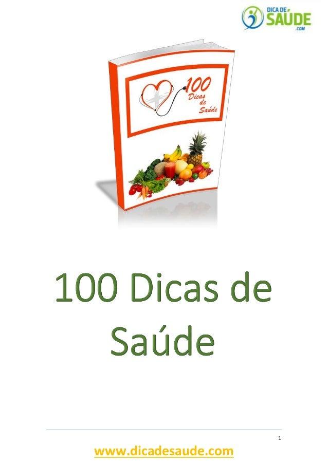 1  www.dicadesaude.com