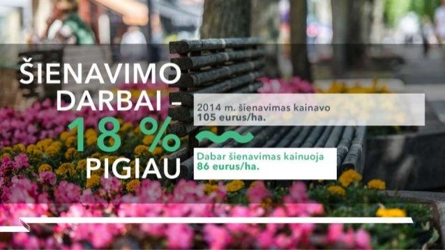 """inavo    2014 m.  šienavimas ka       7  i """"/  """"x """"J /   'i """" Dabar šienavimas kainuoja   86 eurus/ ha.  .II a,"""