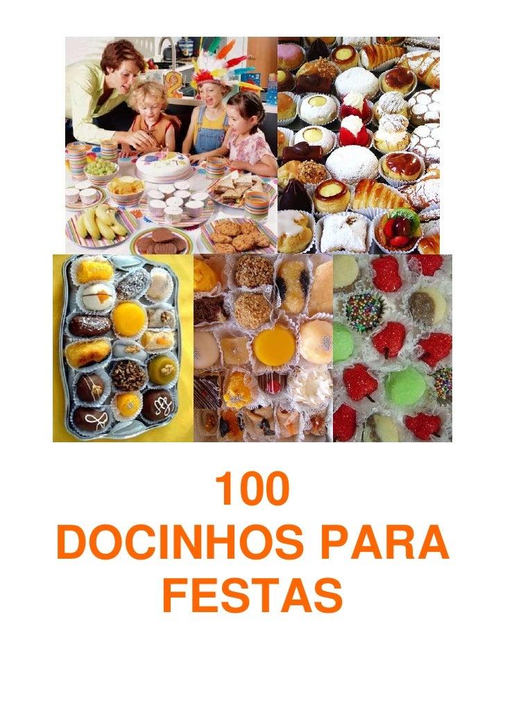 100DOCINHOS PARA   FESTAS