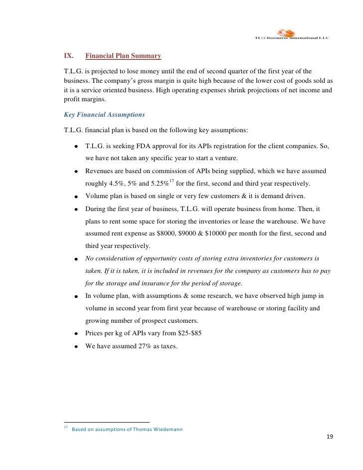 business planning resources international corporation