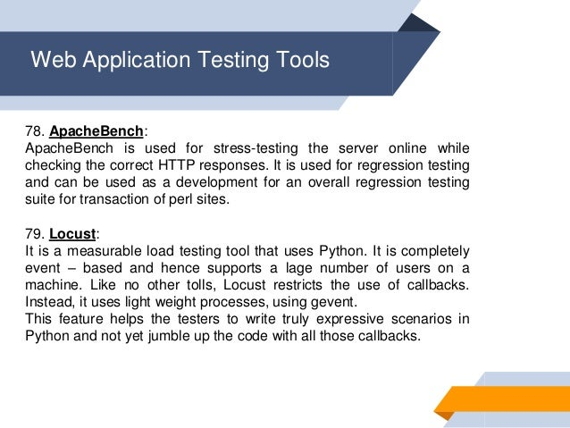 100 effective software testing tools that boost your Testing
