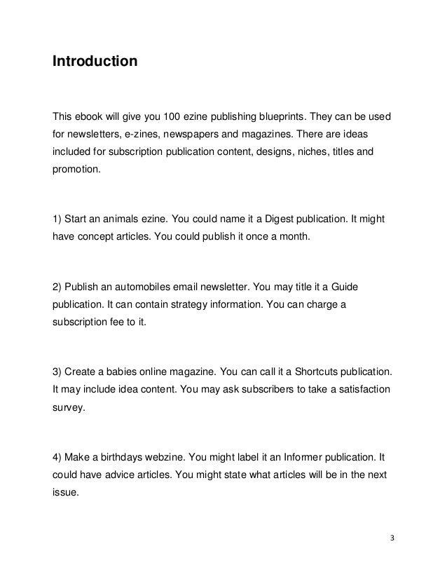 Newsletter Labels - Strategies for Publication Titles