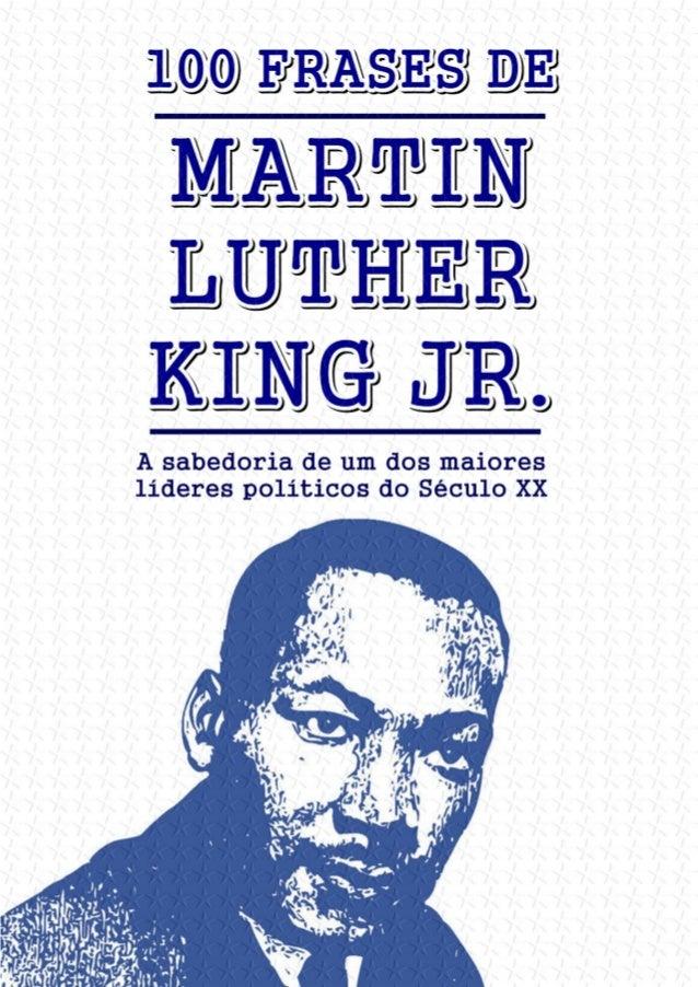 100 Frases De Martin Luther King Jr