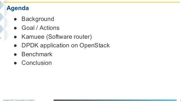 100Gbps OpenStack For Providing High-Performance NFV Slide 2