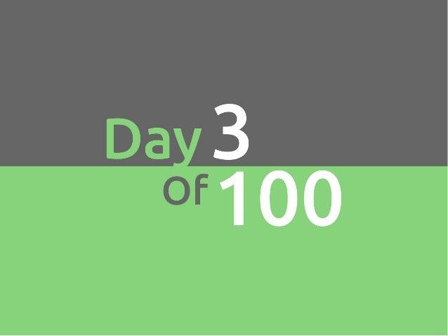 100 growth hacks 100 days | 1 to 10
