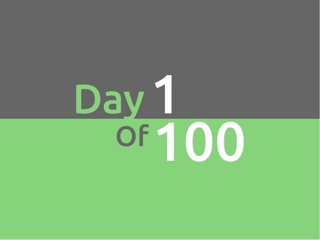100 growth hacks 100 days | 1 to 10 Slide 2