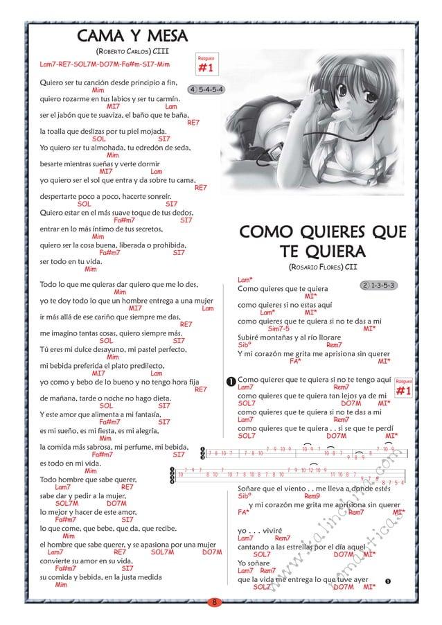 8 w w w .kalinchita.com romanticas CCCCCAMA Y MESAMA Y MESAMA Y MESAMA Y MESAMA Y MESAAAAA (ROBERTO CARLOS) CIII Lam7-RE7-...