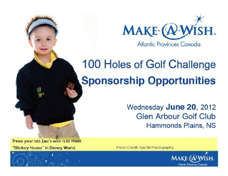 100 Holes of Golf for Wishes