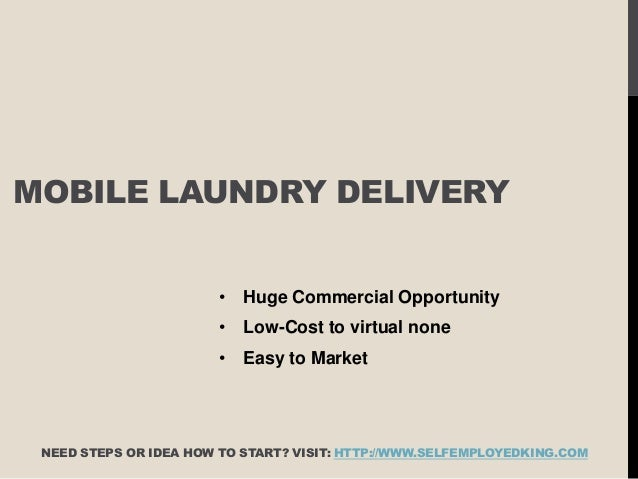 Com 70 Mobile Laundry Delivery