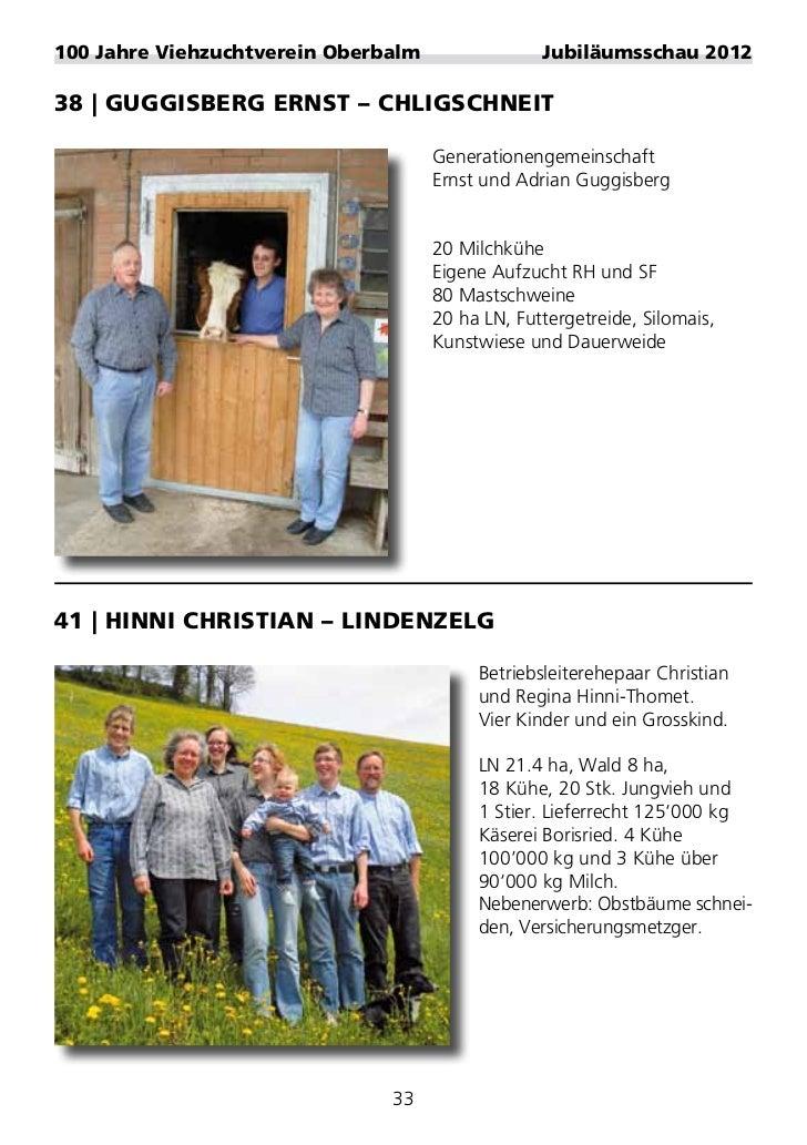 100 jahre viehzuchtverein oberbalm festf hrer for Baumeister programm kg