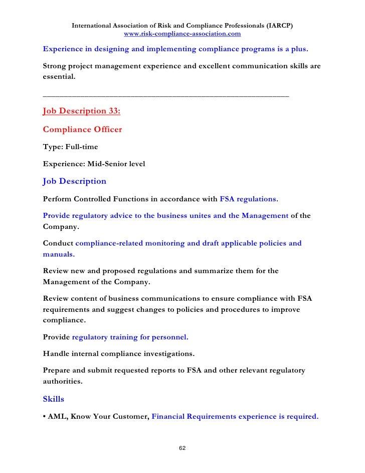 Image Result For Digital Risk Officer Job Description