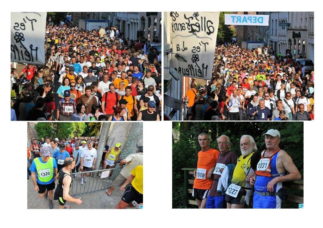 Les 100 km de Steenwerck, le 21/05/2009 Trottinant, marchant, boitant ou titubant, les coureurs du 100 km de Steenwerck on...