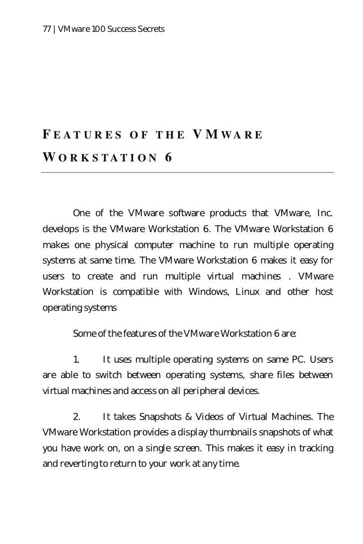 Most Vmware QA
