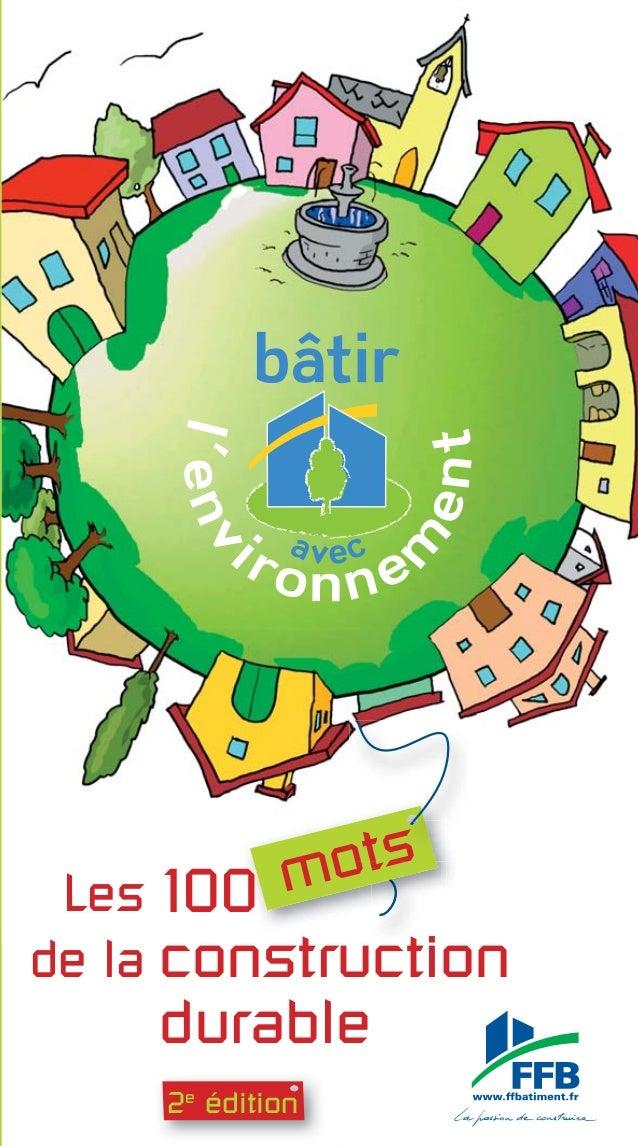 Démarche HQE® Dérèglement climatique Développement durable Diagnostic Dioxine DPE DTA DTI Écoconception Écoconstruction Éc...