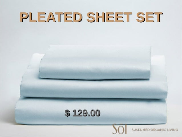 PLEATED SHEET SETPLEATED SHEET SET $ 129.00$ 129.00 ...