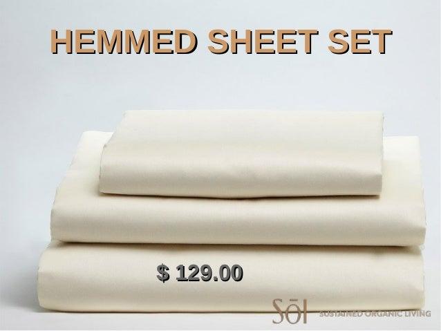 hemmed sheet sethemmed sheet set