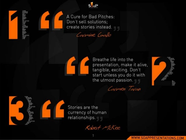 100 Quotes on Presentations by SOAP Slide 2
