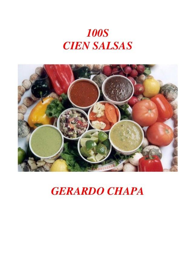 100S CIEN SALSAS GERARDO CHAPA