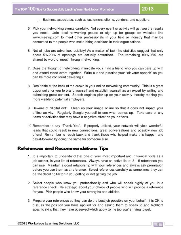 Jobs Tips References Who To Pick And Why   Ghanaphotos.us   High Quality  Resume Template