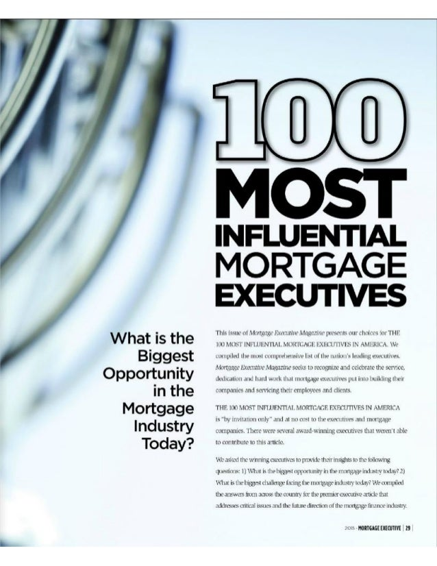 """What is the Biggest Opportunity in the Mortgage Industry Today?   This i<-; n(- m 'X-fr7.'. 'g»: _g. ' F. 'u'. """".': Iin' ...."""