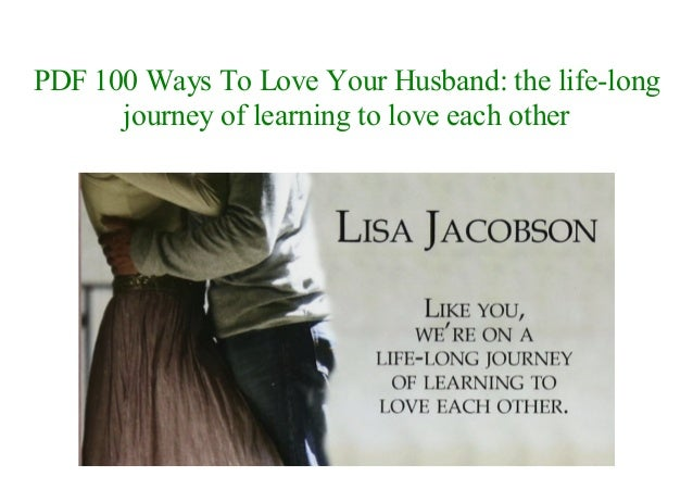 100 ways to love your husband pdf