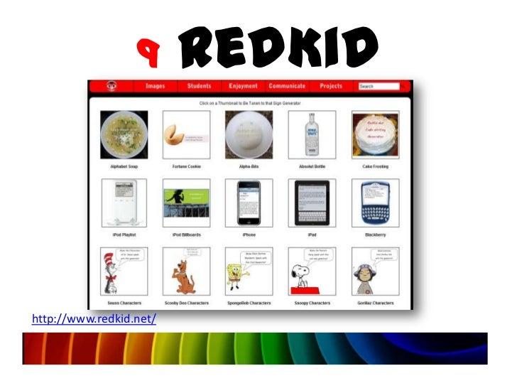 9      RedKidhttp://www.redkid.net/