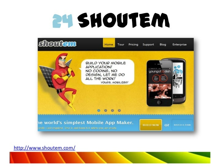 24 Shoutemhttp://www.shoutem.com/