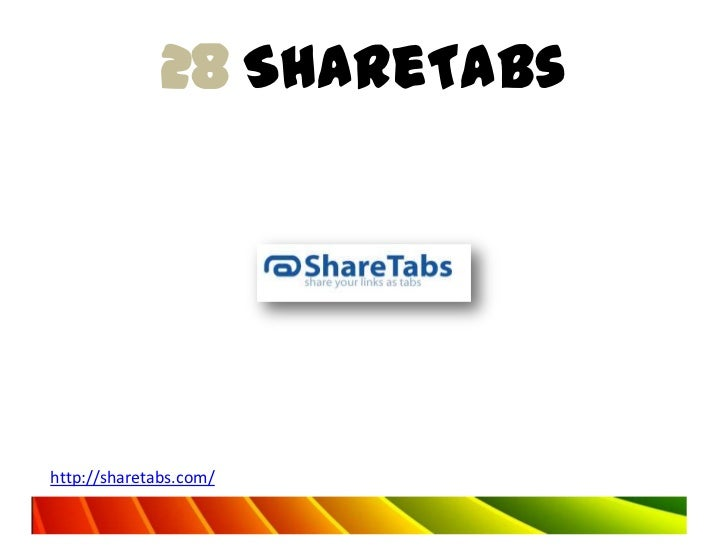 28 ShareTabshttp://sharetabs.com/
