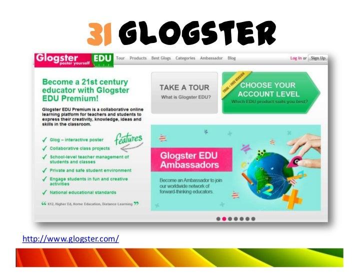 31 Glogsterhttp://www.glogster.com/